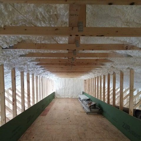 R-value Spray Foam Insulation Wichita, KS